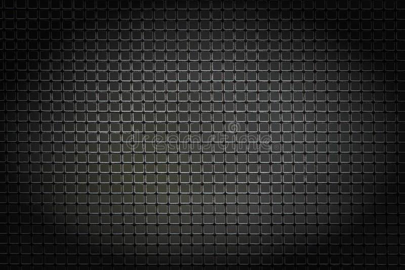 Gitterhintergrund, schwarz stockfoto