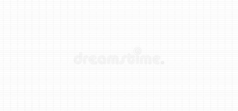 Gitterlinie Grau mit kleinem Abstand - Beschaffenheitsgitter-Hintergrund Zusammenfassung des nahtlosen Zeitplankartentischs strei lizenzfreie abbildung