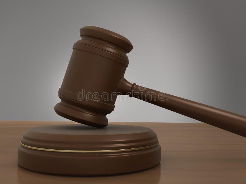 Giudice illustrazione vettoriale