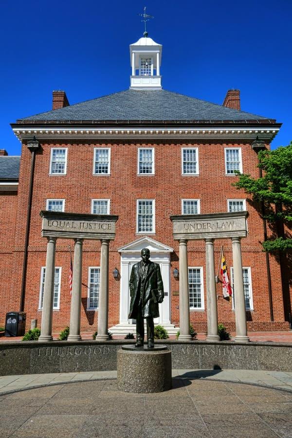 Giudice della corte suprema Thurgood Marshall Memorial fotografia stock