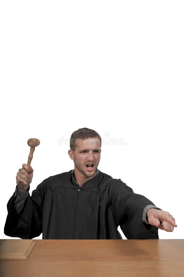 Giudice maschio della corte immagini stock