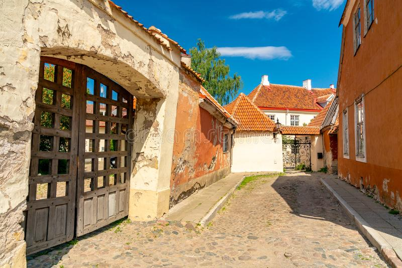 10 giugno 2018 Tallinn, Estonia fotografia stock