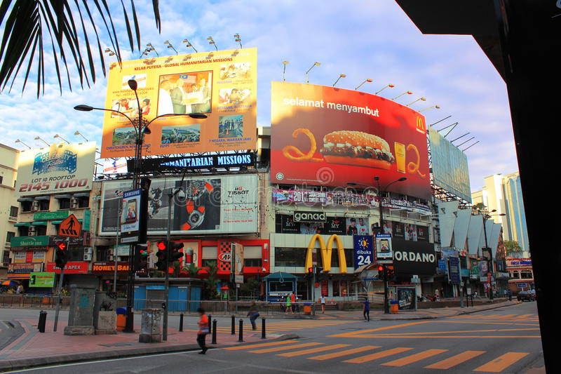 Giunzione di Bukit Bintang fotografia stock