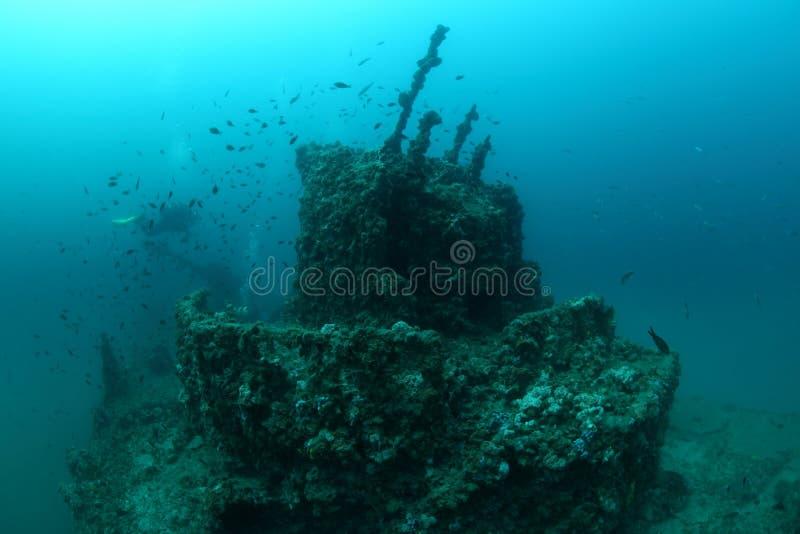 Giuseppe Dezza shipwreck obraz royalty free