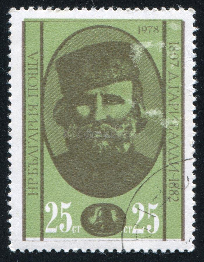 Giuseppe Garibaldi imagen de archivo libre de regalías
