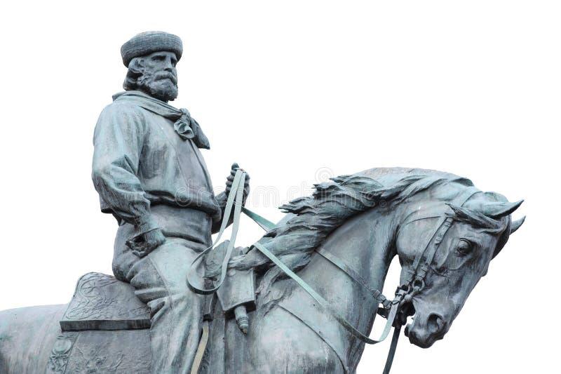 Giuseppe Garibaldi, de Held van Twee Werelden royalty-vrije stock foto