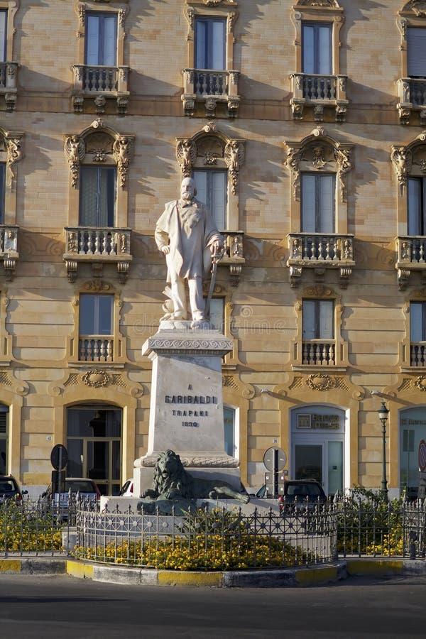 Giuseppe Garibaldi July 4, 1807 - 2 de junho de 1882 monumento imagens de stock