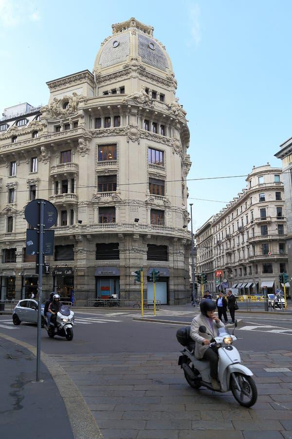 Giuseppe Missori Square, Milaan royalty-vrije stock foto's
