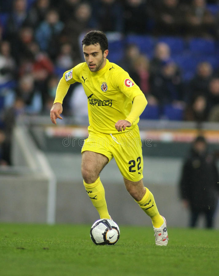 Download Giuseppe Rossi Of Villareal Editorial Stock Image - Image: 13326884