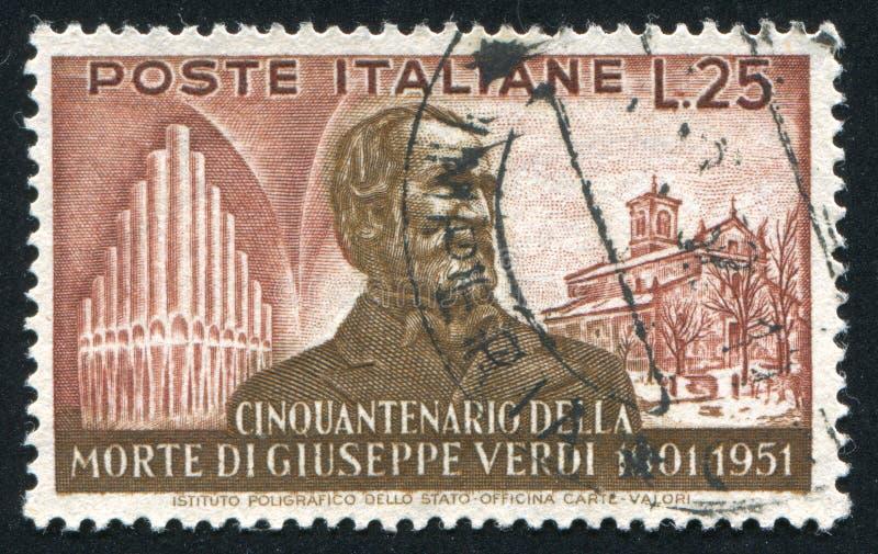 Giuseppe Verdi foto de stock royalty free