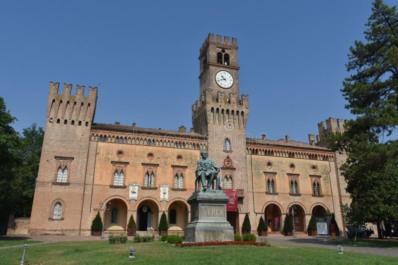 Giuseppe Verdi Square royalty-vrije stock fotografie