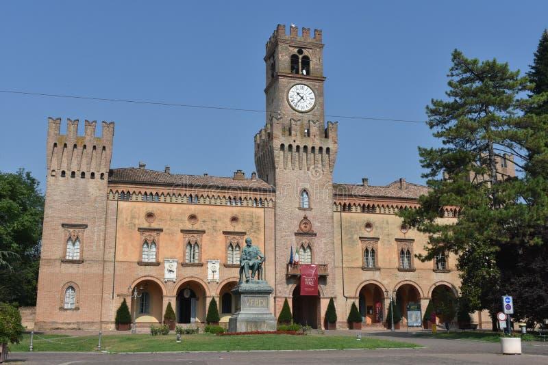 Giuseppe Verdi Square stock foto