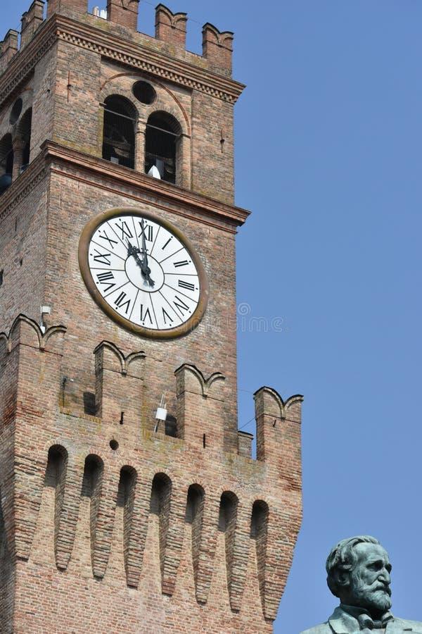 Giuseppe Verdi Square royalty-vrije stock afbeelding