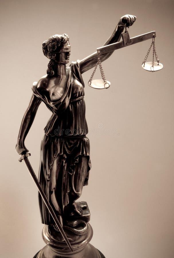 Giustizia fotografie stock