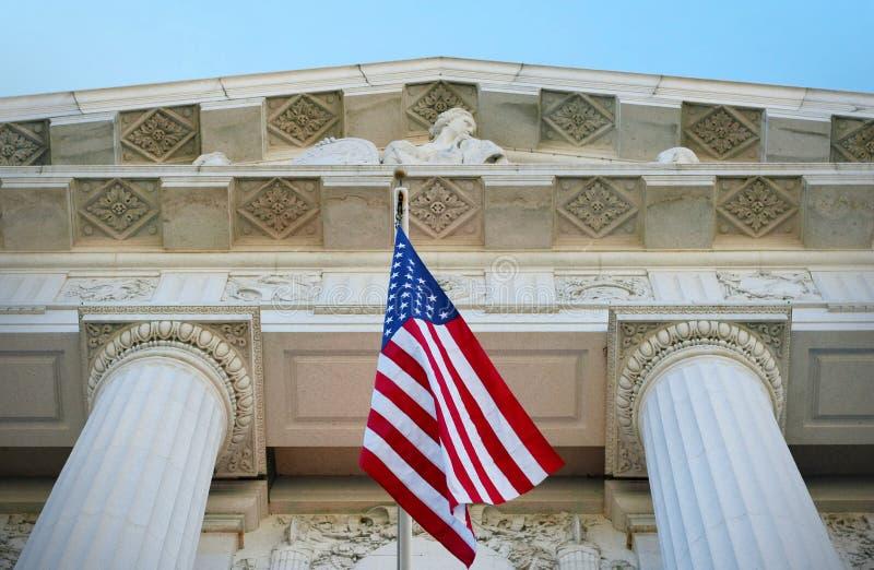 Giustizia americana immagini stock libere da diritti
