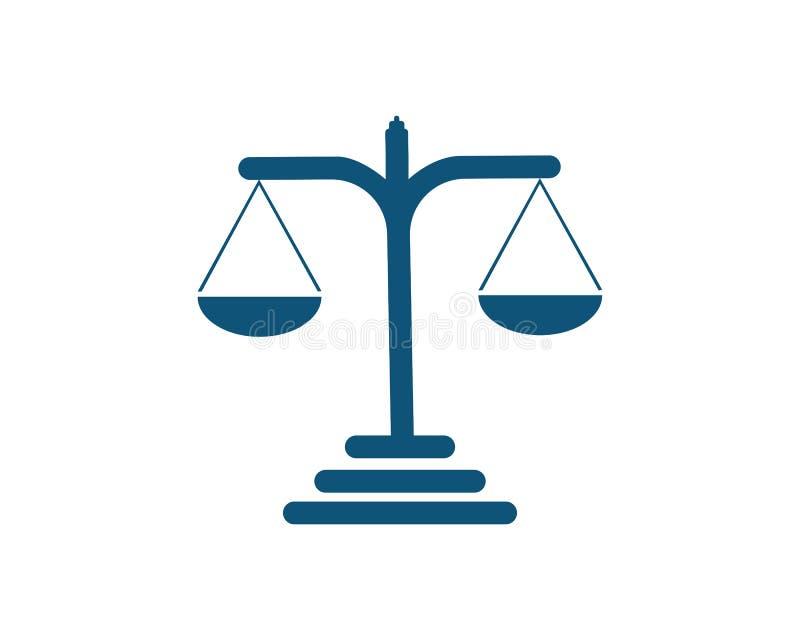 giustizia illustrazione vettoriale