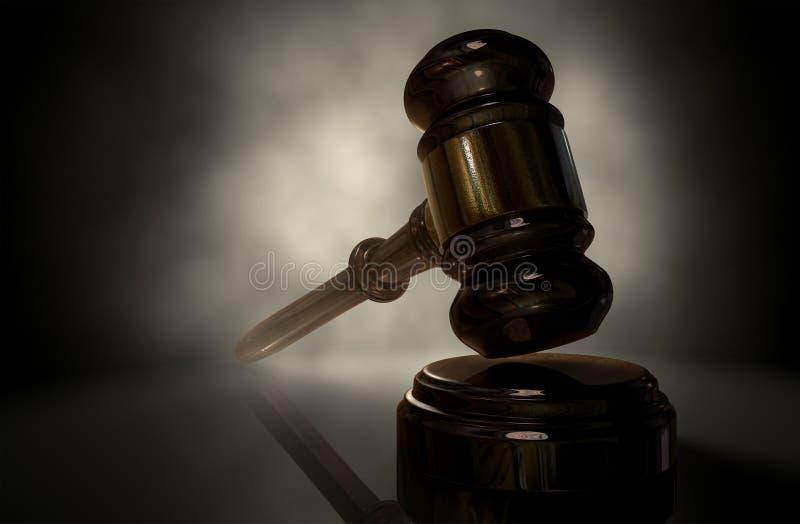 Giustizia Gavel fotografia stock