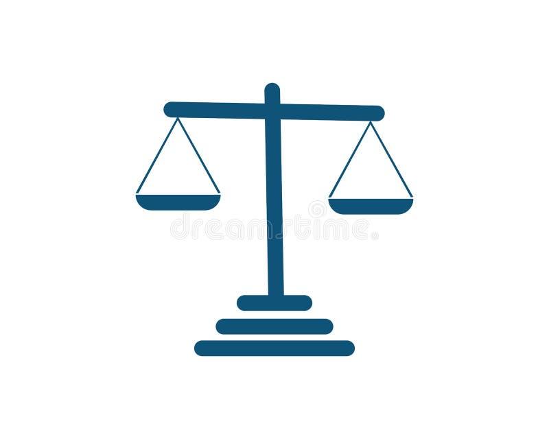 giustizia illustrazione di stock