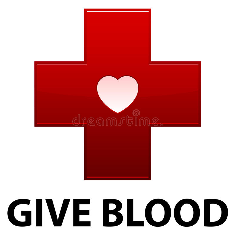 Free Give Blood Red Cross Stock Photos - 17801743