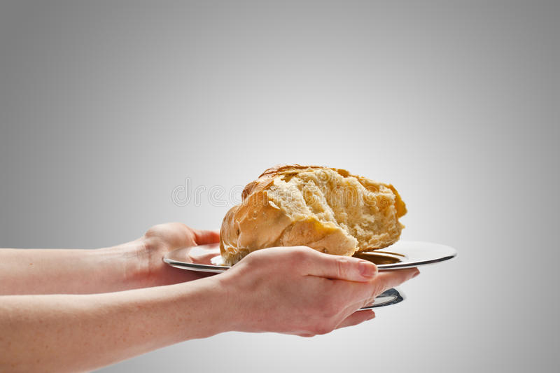 Download Give Bread stock image. Image of offer, religion, partaking - 17763603