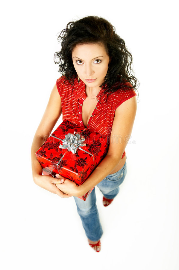 Give a gift royalty free stock images