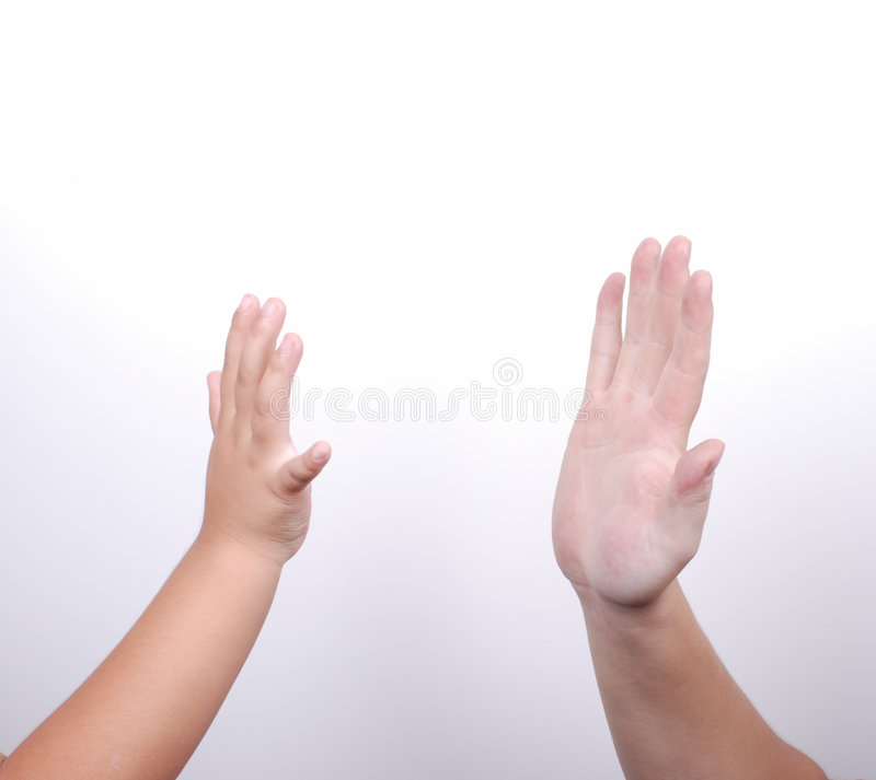 Give Me Five Stock Images