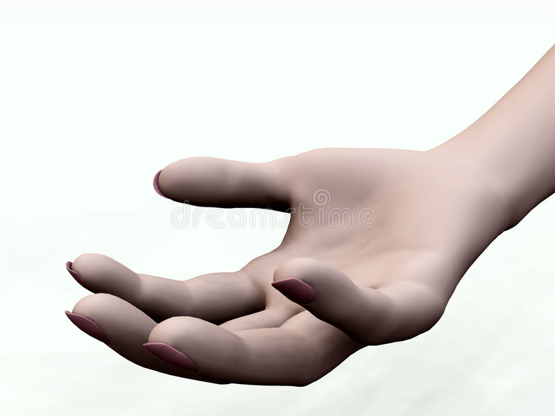 Download Give Me A Hand stock illustration. Illustration of thumb - 7708013