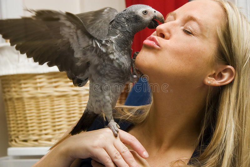 Give me a Kiss! royalty free stock images