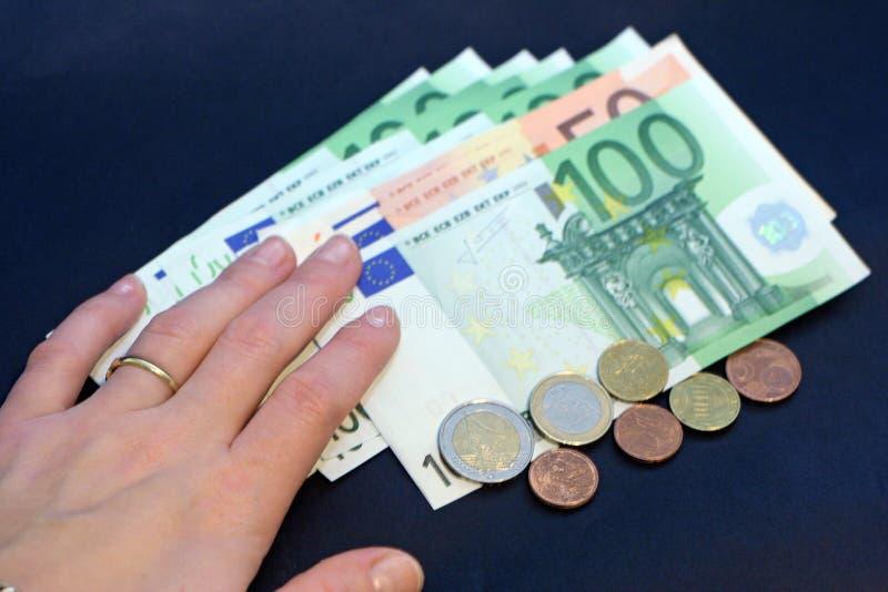 Give The Money Stock Photos