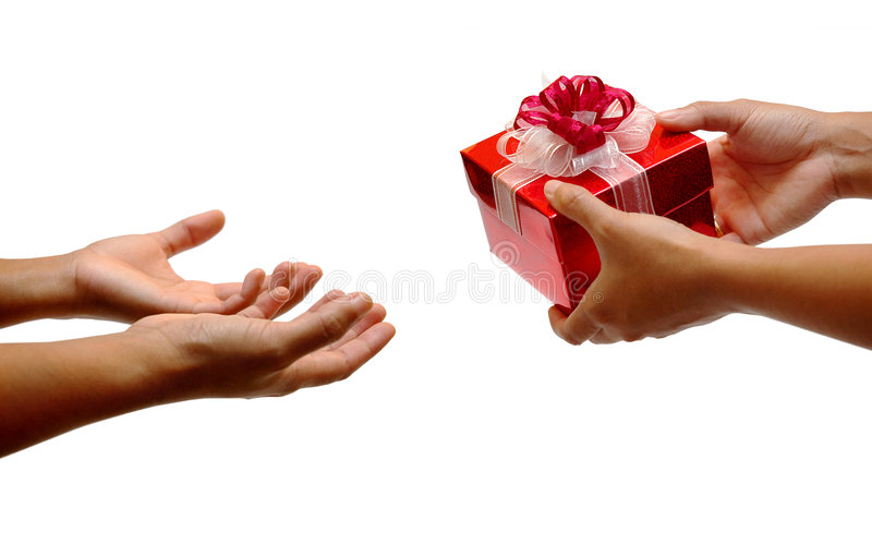 Download Give and take stock photo. Image of birthday, hand, packaging - 268902