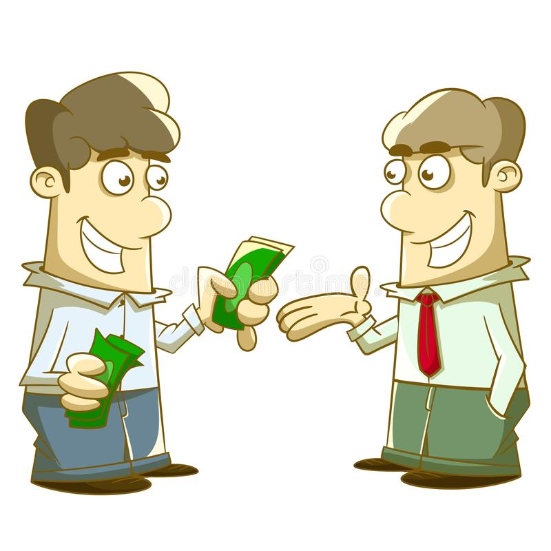 Download Give and take Allowance stock illustration. Image of cash - 41195499