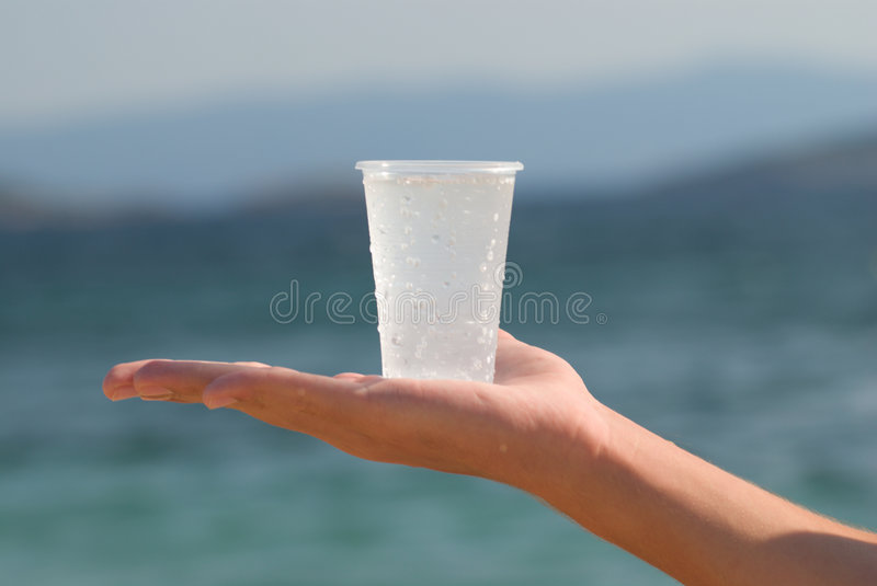 Give a water royalty free stock photo