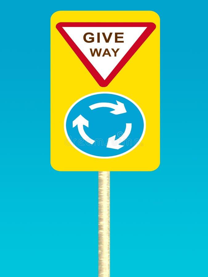 Download Give way sign board stock illustration. Illustration of safe - 66011