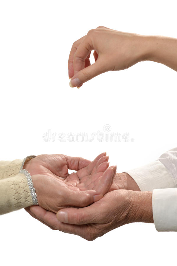 Download Giving hands closeup stock photo. Image of image, charity - 40159312