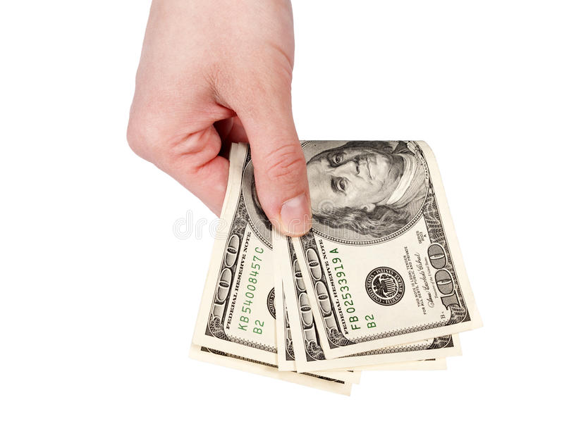 Download Giving the money stock photo. Image of crime, hundred - 29199140