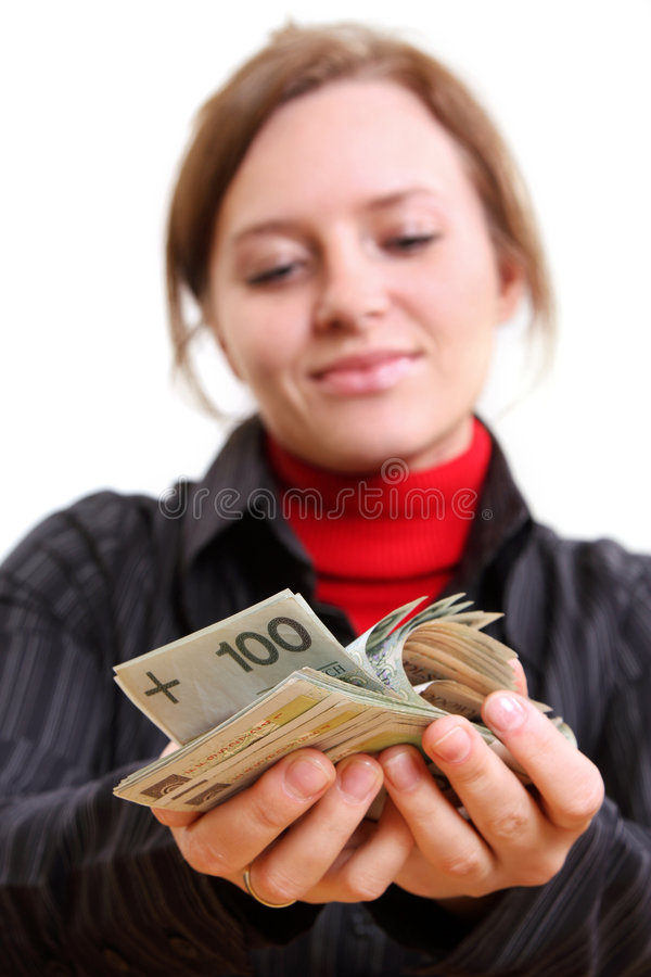 Download Giving money stock image. Image of borrow, buying, money - 5128773