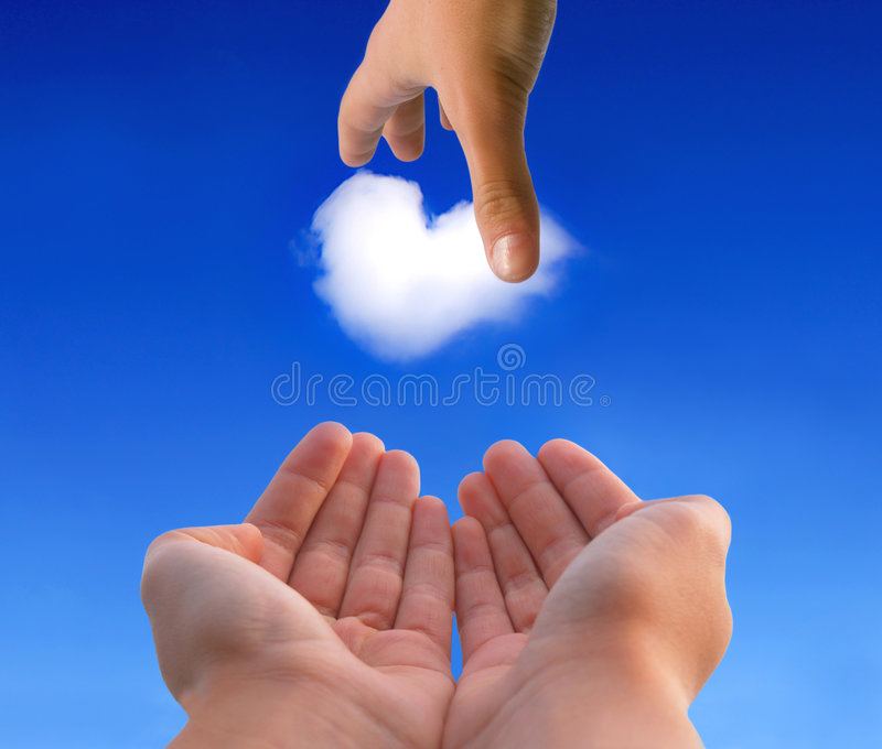 Download Giving You A Heart Royalty Free Stock Photography - Image: 8019087