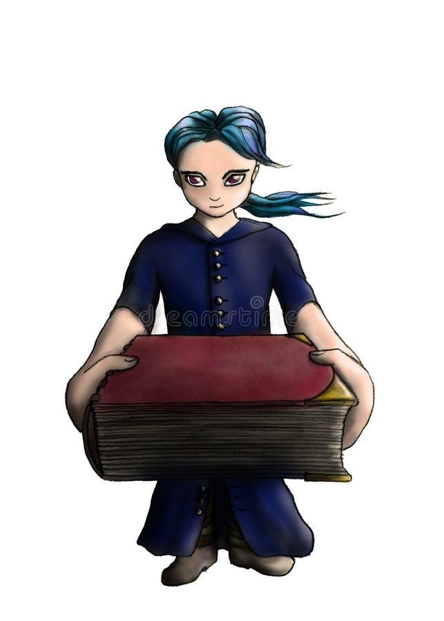 Giving You A Magic Book 1 Stock Photos