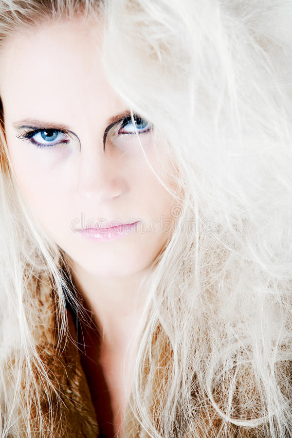 Free Giving You My Angry Look With Fierce Make-up Stock Image - 10482441