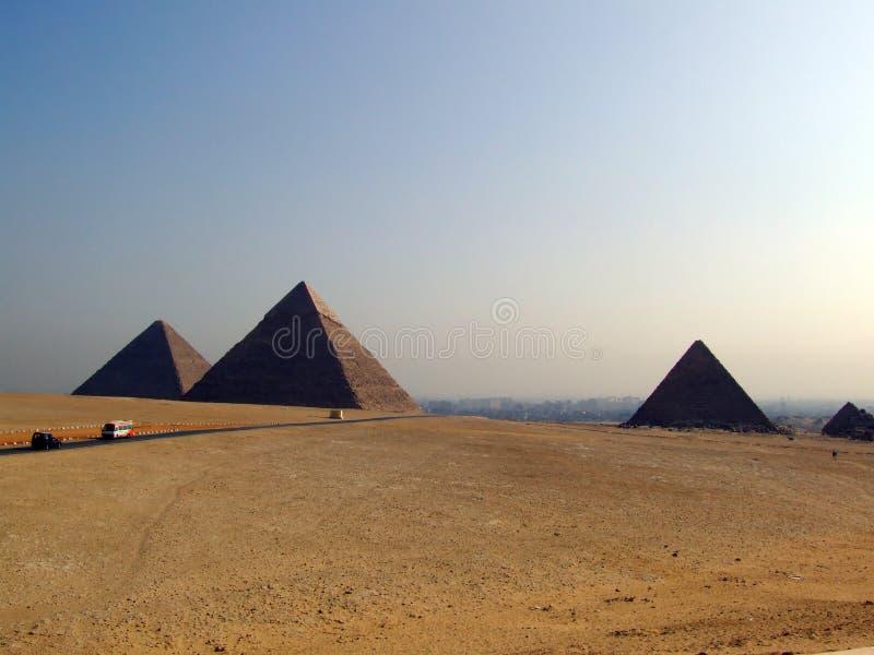 Giza 07 ostrosłupów obrazy royalty free