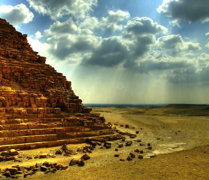 Giza 25 ostrosłupów zdjęcia stock
