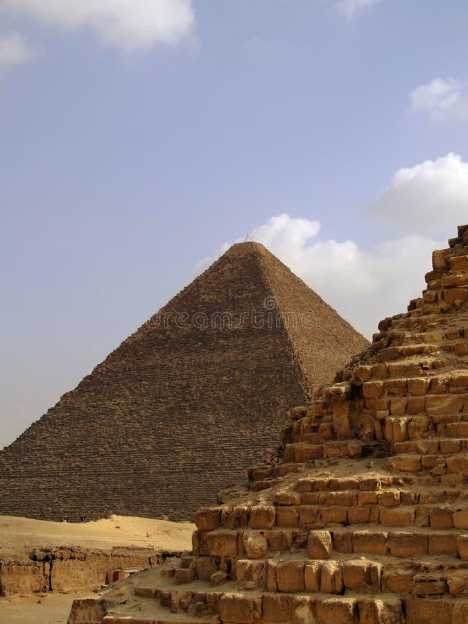 Giza 33 ostrosłupa zdjęcia royalty free