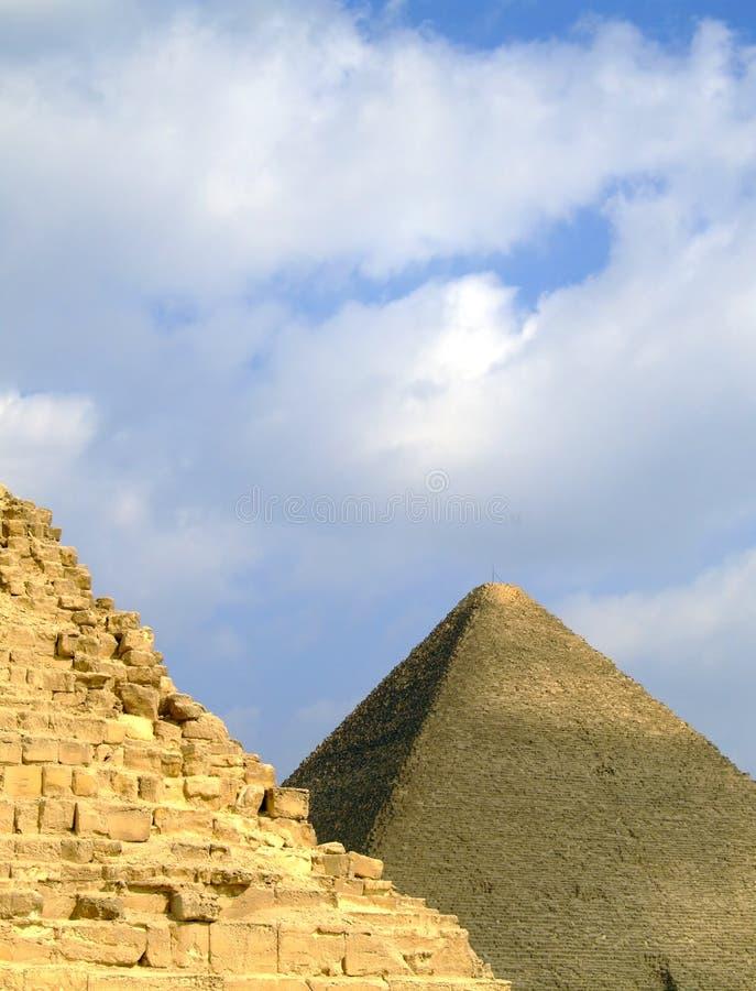 Giza 37 ostrosłupów fotografia royalty free