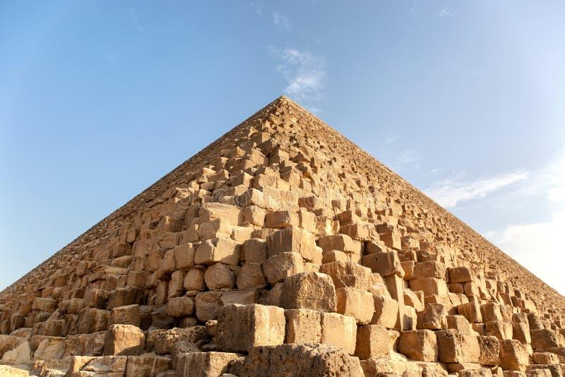 Giza pyramid detail