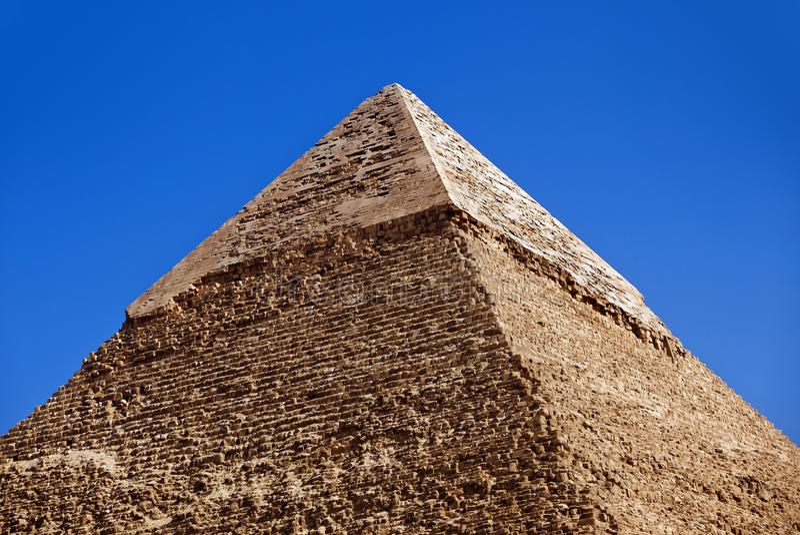 Giza-Pyramiden, Kairo, Ägypten stockfotografie