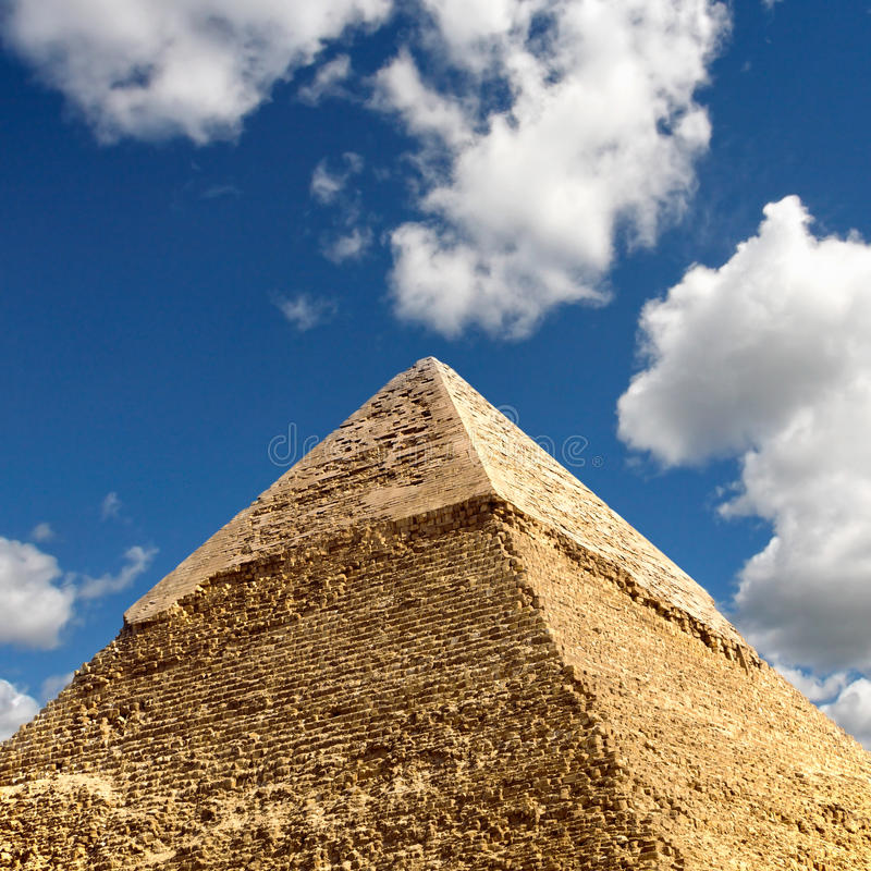 Giza-Pyramiden, Kairo, Ägypten lizenzfreies stockfoto