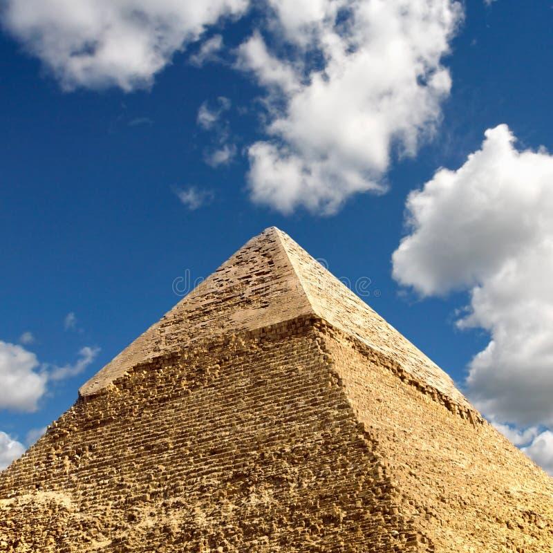 Giza pyramids, cairo, egypt royalty free stock photo