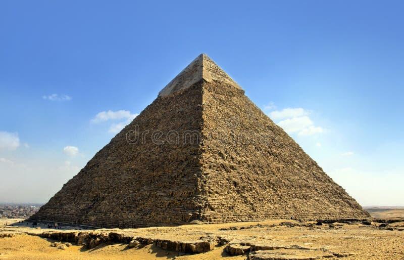 Giza pyramids, cairo, egypt stock photo