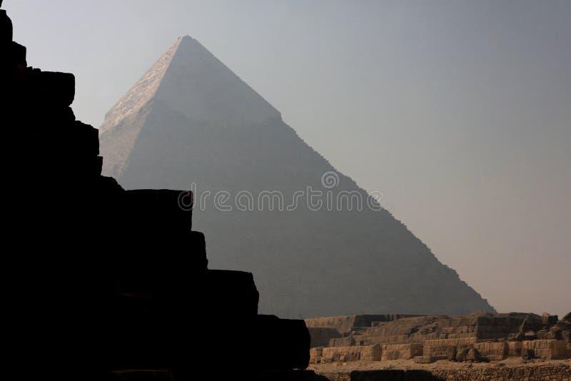 gizehpyramider arkivbilder