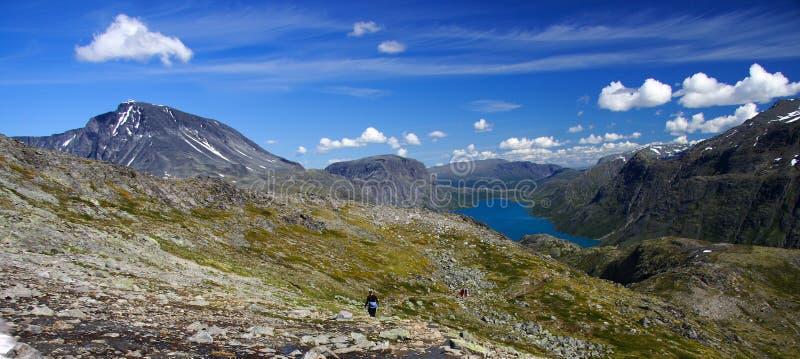 Gjende Lake Stock Photo
